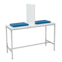 Mesa para toma de muestras...