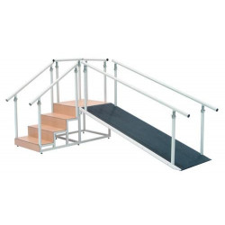 Escalera con rampa - 40109
