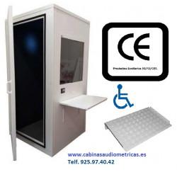 Cabina audiométrica C32 de 90x90
