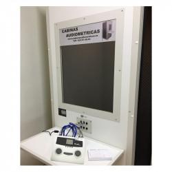 Cabina audiológica C30 con audiómetro as608b interacoustics